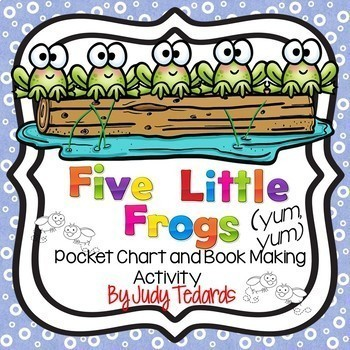 Five Little...BUNDLE (16 Pocket Chart Activities...and GROWING )
