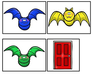 Five Little Bats ( Pocket Chart Activity)
