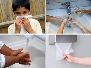 Five Little Boogers: Blow Your Nose and Wash Your Hands