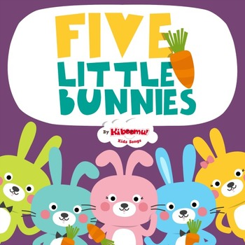 Five Little Bunnies Music Video for Easter!