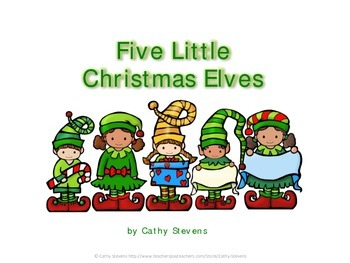 Five Little Christmas Elves - Christmas Fingerplay