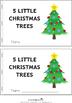 Five Little Christmas Trees Bundle including Pocket Chart