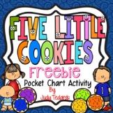 Five Little Cookies (A Pocket Chart  Activity)