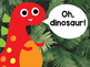 Five Little Dinosaurs Emergent Reader Bundle