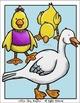Five Little Ducks Clip Art Set - Chirp Graphics