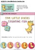 Five Little Ducks Counting Game File Folder