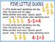 Five Little Ducks~ Literacy and Math Bundle of Fun