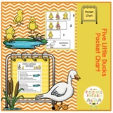 Five Little Ducks Pocket Chart