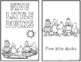 Five Little Ducks - Reading, Writing, and Math Activities