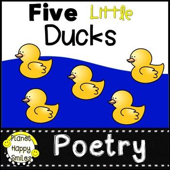 Five Little Ducks Rhyme