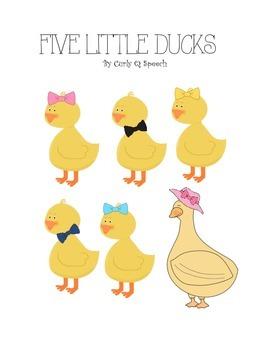 Five Little Ducks Song Companion