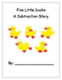 Five Little Ducks Subtraction Book