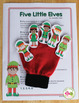 Elf Activities | Elf Interactive Counting Book and Finger Play Poem