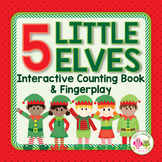 Elf Activities | Elf Interactive Counting Book and Finger