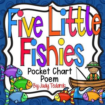 Five Little Fishies (FREEBIE Pocket Chart Activity)