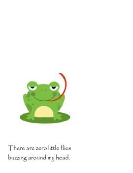 Five Little Flies - Emergent Reader