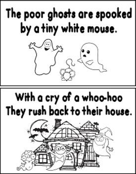 Five Little Ghost Books