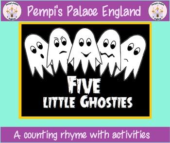 Five Little Ghosties - Halloween Emotional Literacy & Coun