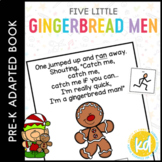 Five Little Gingerbread Men: Adapted Book for Students wit