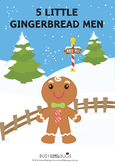 Five Little Gingerbread Men Bundle including Pocket Chart