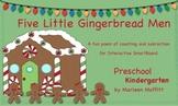 Five Little Gingerbread Men (Notebook 11)
