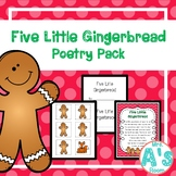Five Little Gingerbread Poetry Pack