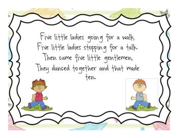 Five Little Ladies