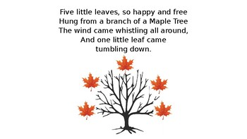Five Little Leaves