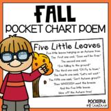 Five Little Leaves Pocket Chart