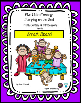Five Little Monkeys- Interactive Subtraction for the Smart Board