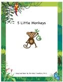 Five Little Monkeys Adapted Book