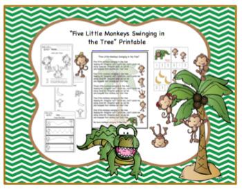 Five Little Monkeys Bundle