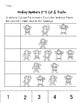 Five Little Monkeys Common Core Aligned No Prep Worksheets