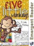 Five Little Monkeys Emergent Readers (2) & Colorful Class Book {Nursery Rhymes}