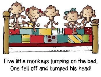 Five Little Monkeys: Fact Fluency to 5