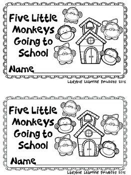 Five Little Monkeys Going To School (A Sight Word Emergent Reader)