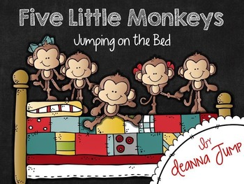 Five Little Monkeys Jumping on the Bed Math & Literacy Fun!