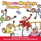 Five Little Monkeys Jumping on the Bed Read-Along eBook & Audio Track