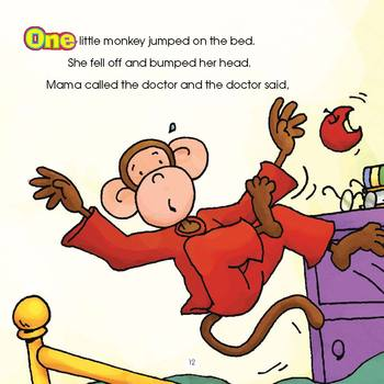 Five Little Monkeys Jumping On The Bed Read Along Ebook Audio Track