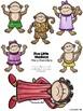 Five Little Monkeys Mini Book & Activity Set/ Cinco Monitos brincando en la cama