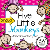 Five Little Monkeys Mini Book & Activity Set/ Cinco Monito