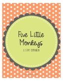 Five Little Monkeys- Speech and Language Story Companion