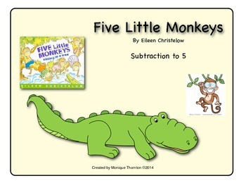 Five Little Monkeys (Subtraction to 5)