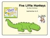 Five Little Monkeys (Subtraction to 5)