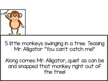 Five Little Monkeys Swinging in a Tree