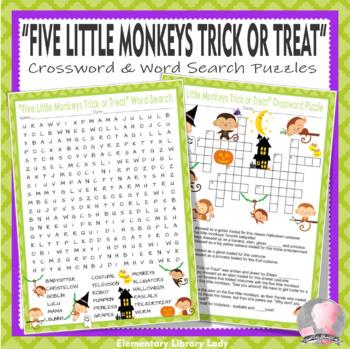 Five Little Monkeys Trick-or-Treat