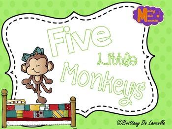 Five Little Monkeys - Visuals for Popular Folk Song