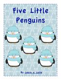 Five Little Penguins (FREE color version)