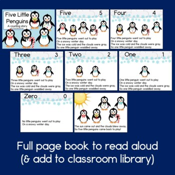 Five Little Penguins, a Counting Story: Guided Reading Book
