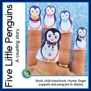 Five Little Penguins, a counting story